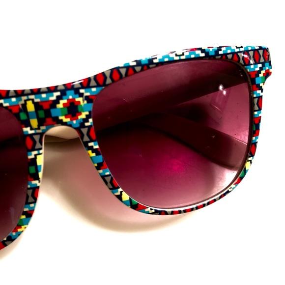 "d411238b709 Aztec Geo Tribal Wayfarer ""Ray Ban"" Sunglasses"